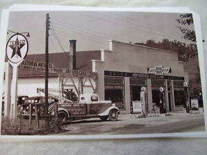 Late 1930 S Chevrolet Dealer Cars Tow Truck Etc 11 X 17 Photo Picture