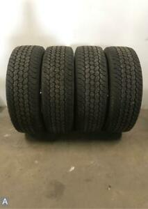4x Take Off P255 65r17 Goodyear Wrangler At Adventure 12 32 Used Tires