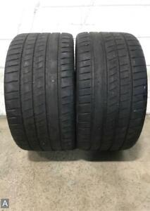 2x P305 30r20 Michelin Pilot Sport 4s No 8 9 32 Used Tires