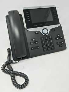 Cisco Cp 8811 Business Voip Office Phone W Handset Stand