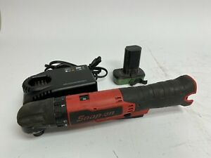 Snap On Microlithium Right Angle Screwdriver Kit Ctsr761 W battery Charger