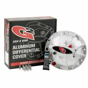 G2 Axle 40 2029al Differential Cover Raw Aluminum For Chrysler 8 25 New