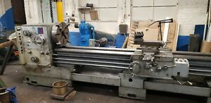 24 30 X 200 Lansing Gap Bed Engine Lathe With Steady Rest Make An Offer