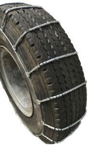 Snow Chains 425 65r22 5 425 65 22 5 Truck Suv Cable Tire Chains Set Of 2