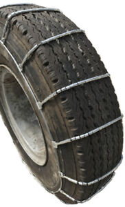 Snow Chains 445 50r22 5 445 50 22 5 Truck Suv Cable Tire Chains Set Of 2