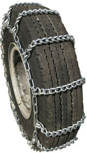 Snow Chains 295 75r22 5 295 75 22 5 Extra Heavy Duty Mud Tire Chains Set Of 2