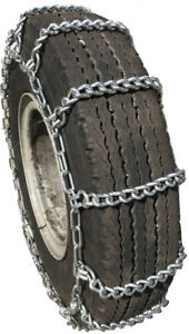 Snow Chains 12 22 5 12 22 5 Extra Heavy Duty Mud Tire Chains Set Of 2
