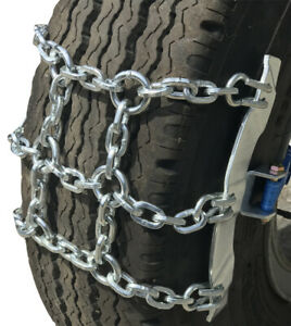 Snow Chains 295 80 22 5 295 80 22 5 Ratchet Strap Emergency Tire Chains