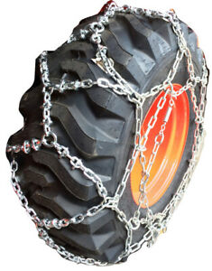 Snow Chains 18 22 5 Reinforced European Style Net Tire Chains