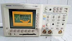 Tektronix Tds 3012 2 channel Cover Digital Phosphor Oscilloscope 100 Mhz 1 25