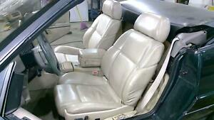 93 Cadillac Allante Beige Power Leather Seat Set Left Right Oem