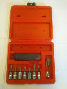 Snap On Tools Hand Held Impact Driver Set W Extra Bits