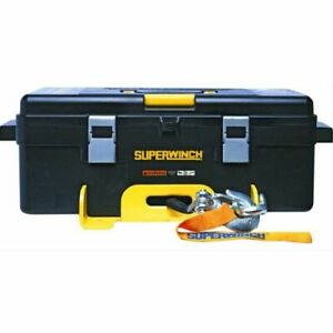 Superwinch 1140232 Winch2go Utility Electric 12 V 4 000 Lbs Hawse Synthetic Rope