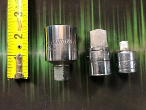 Sk Cornwell Tools 3 Piece Adapter Set 3 4 To 1 2 1 2 To 3 4 1 2 To 3 8 Usa
