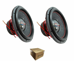 Pair of American Bass Competition 15quot; 6000 Watt Dual 4 Ohm Subwoofer Hawk 1544 $445.95