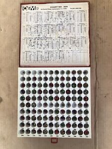 Oem Mfg Chart 005 Locksmith Pin Kit American Lick Supply Inc