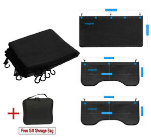 3 Pcs Set Heavy Duty Magnetic Fender Cover Mechanic Car Work Mat Cover Protector
