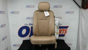 17 Ford F250 Super Duty Front Driver Left Power Seat Tan Leather