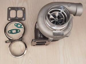 Gt3582 T4 V Band Billet Turbo Charger A R 1 00 Turbine A R 70 Gt45r Gt35 T66