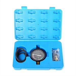 Fuel Pump And Vacuum Tester Carburetor Carb Valve Pressure Tester Gauge Test Kit