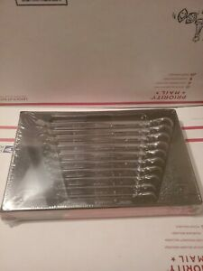 New Snap On 10 Piece Metric Speed Ratcheting Box Wrench Set