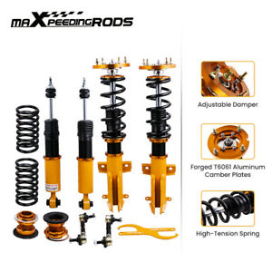 Racing Coilovers Suspension Kits For Ford Mustang 2005 2014 24 step Adj Damper