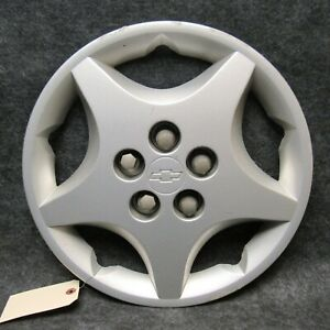 2000 05 Chevy Cavalier 14 5 Spoke Hub Cap 9593208 Wheel Cover Silver Oem 52390