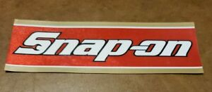Snap On Tool Box Sticker Racing Decal Ss993 Brand New Vintage 1980s 1990s