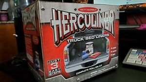 Herculiner Truck Bed Liner Kit 1 Gallon Advanced Protective Coating Self Bonding