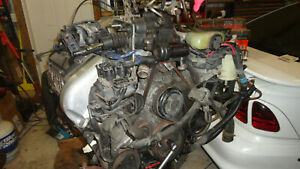 109k Mile Mustang Engine 4 6ldohc Cobra 96 Long Block Motor Oem
