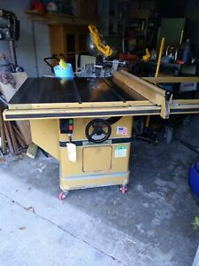Powematic Model 72a Table Saw