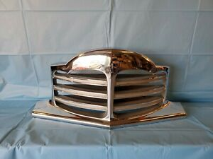 1948 1949 1950 Packard Grille With Louvers No Emblem