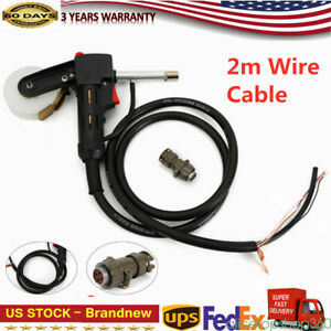 Wire Drawing Torch Welding Torch Mig Welder Spool Gun Standard Spool Dc24v Motor