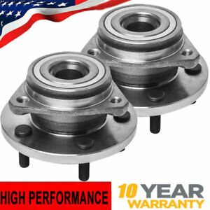 For 1999 2004 Jeep Grand Cherokee Front Wheel Bearing Hub Assembly Pair