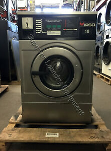 Ipso Iwf018 Washer 18lb Coin 220v 1 3ph Reconditioned