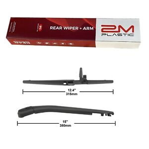 Rear Wiper Arm Blade New For Toyota 4runner 2003 2009 Oe 8524135030