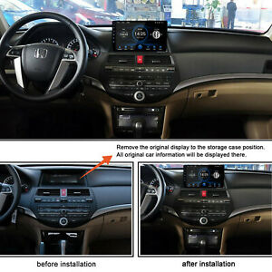 10 1 Android 9 1 Car Radio Head Unit Gps For Honda Accord 2008 2012 1gb 16gb