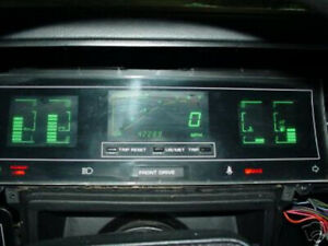 Chrysler Lebaron Gts Dodge Lancer 1985 1986 1987 Digital Speedometer Cluster