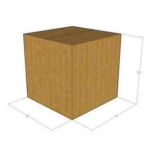 12x12x12 New Corrugated Boxes For Moving Or Shipping Needs 32 Ect