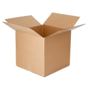 12x12x12 New Heavy Duty Corrugated Boxes For Moving Or Shipping 44 Ect