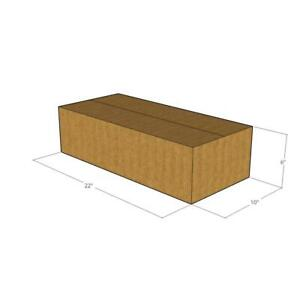 22x10x6 New Corrugated Boxes For Moving Or Shipping Needs 32 Ect