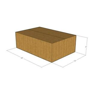 18x12x6 New Corrugated Boxes For Moving Or Shipping Needs 32 Ect