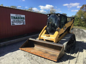 2008 Caterpillar 287c Compact Track Skid Steer Loader W Cab 2spd Highflow Cheap