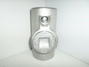 new Crouse hinds Eys81 3 Explosion Proof Sealing Fitting Sealoff