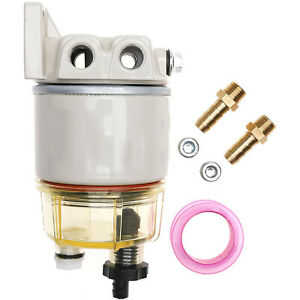 Diesel Fuel Filter Water Separator For R12t Marine Spin on Housing 120 At