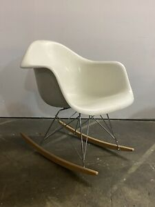 Herman Miller Eames Vintage Fiberglass Rar Rocking Chair Rocker
