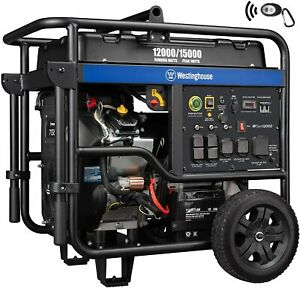 Westinghouse 15 000 w Portable Rv Ready Gas Powered Generator With Remote Start