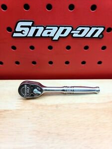 Snap On Fc936 3 8 Drive Small Handle 4 3 8 Ratchet Rare