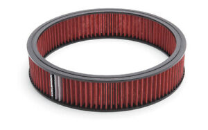 Edelbrock 43666 Air Filter Red