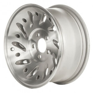 03261 Used 15x7 Alloy Wheel Rim As Cast And Machined